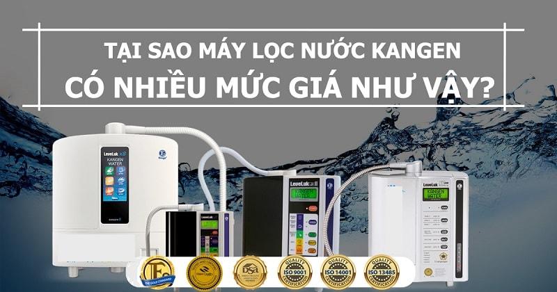 Vài nét giới thiệu chung về thương hiệu máy lọc nước Kangen Enagic